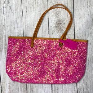NWTS Crewcuts PINK GLITTER purse 👛